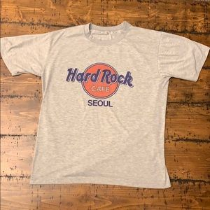 Hard Rock Cafe Seoul T-shirt